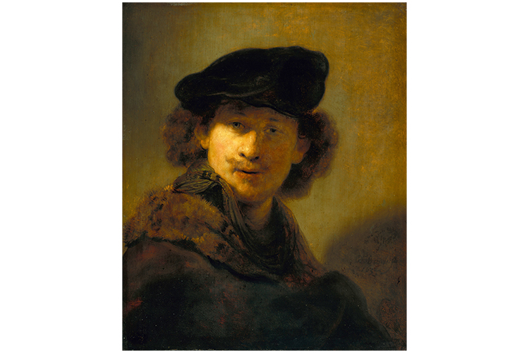 Rembrandt in mammoth art