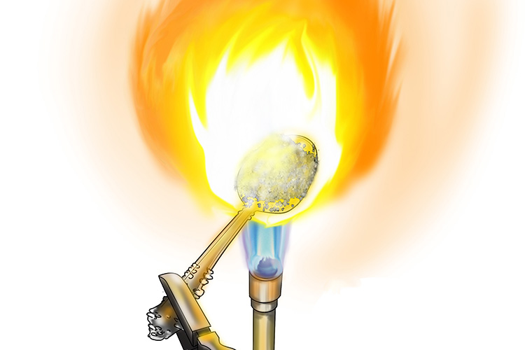 Ionic compounds have a very high melting point and dissolve