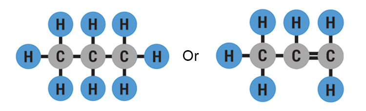 Prop means this hydrocarbon contains 3 carbon atoms