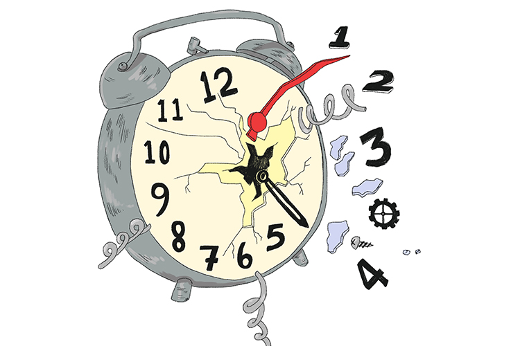 How to recognise and use past, present and future tenses, tense is time, clock