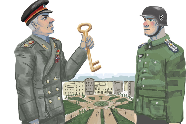 You think this is your key (Georgy) to Stalingrad but...