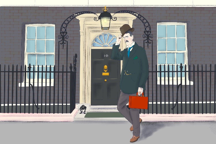 This is no villa (Neville), or chamber or inn (Chamberlain), this is 10 Downing Street.