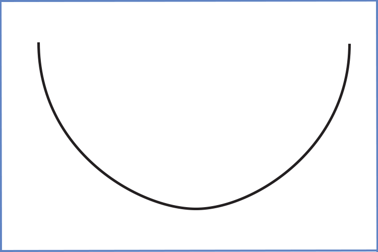 Example of parabola, is that a smile I see? Yes it's a parabola