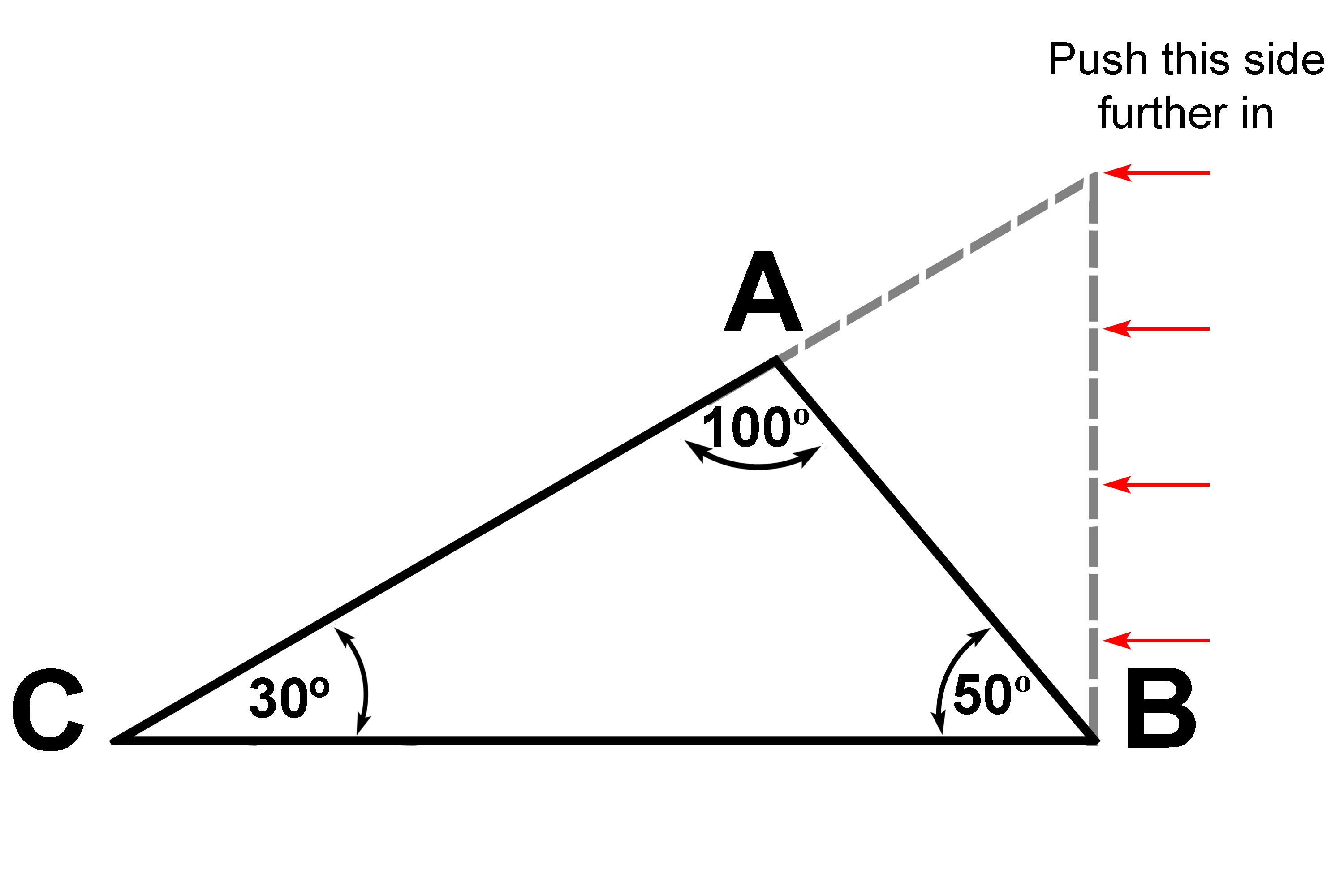 Any triangle equals 180 degrees