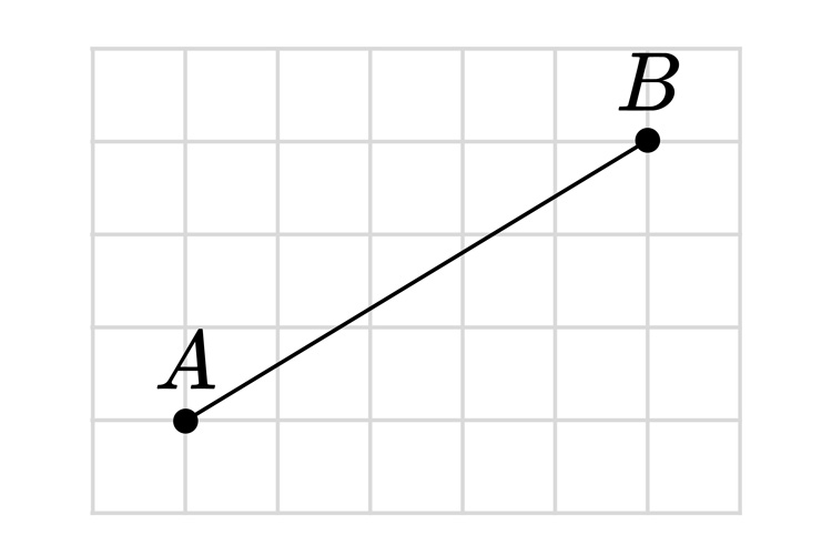 Bisect this line using a pencil compass