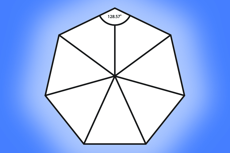 A Heptagon Is A Polygon With 7 Sides Mammoth Memory Maths