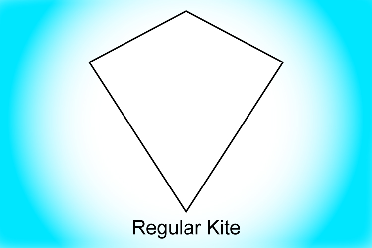 A kite is a quadrilateral