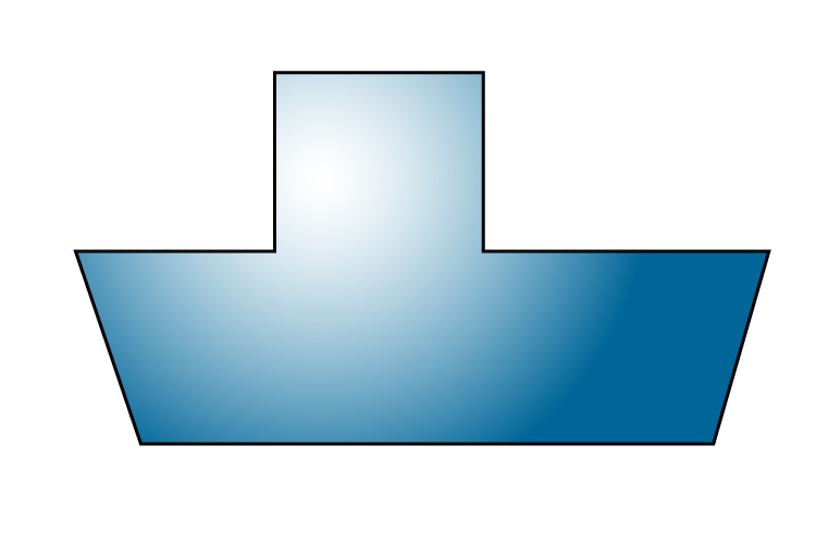 This shape has 8 sides so it is an octagon