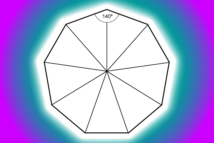 A Nonagon Is A Polygon With 9 Sides Mammoth Memory Maths