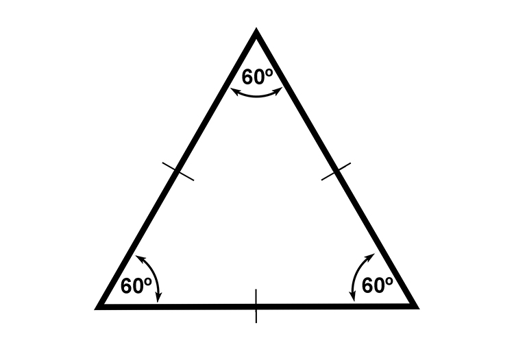 The internal angles of a triangle divided by 360 makes 6, this is a whole number so triangles will tessellate