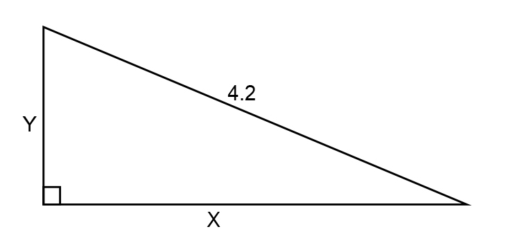Find y of the second triangle