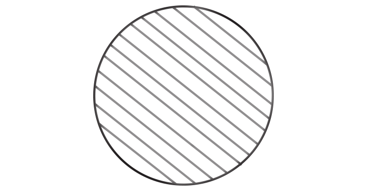 Section through a wire