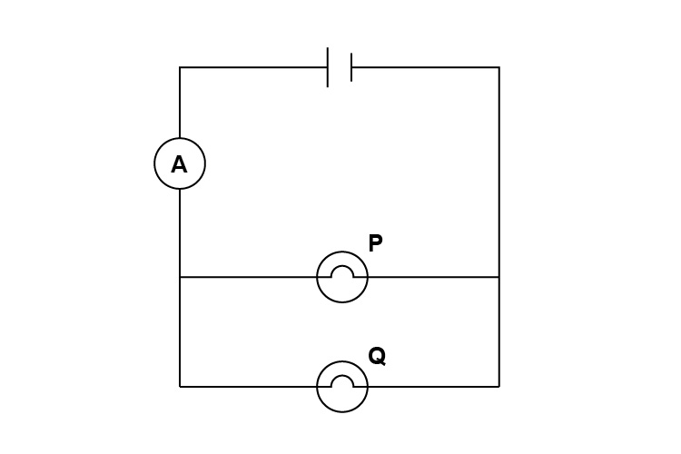 Example circuit to work through voltage