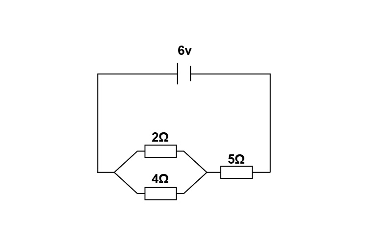 Example 2 circuit with ohms law included