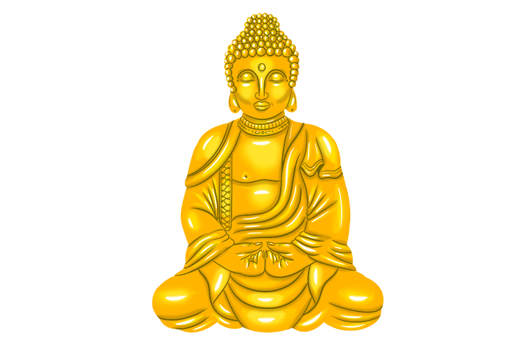 Correct concentration through meditation will help on your eightfold path out of suffering