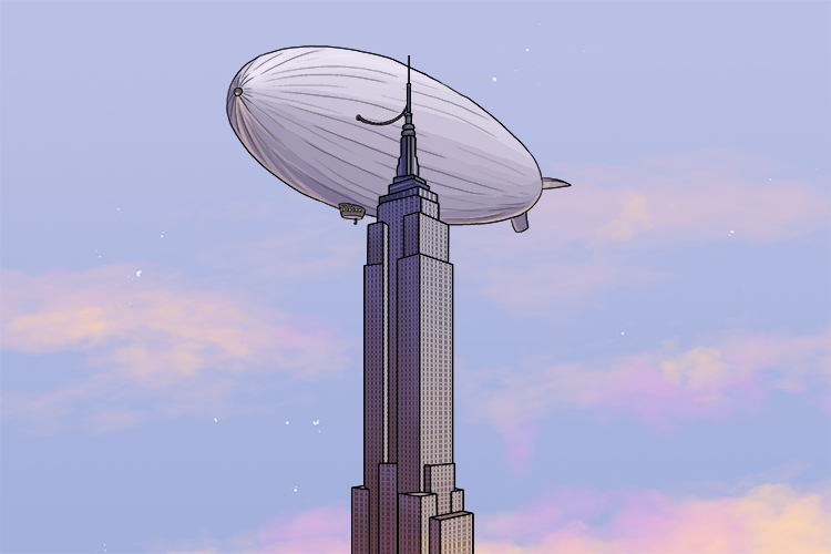 "If I said the words ""Empire State building"", could you recall an interesting fact about it? It's upper tower was originally designed as a mooring mast for airships."