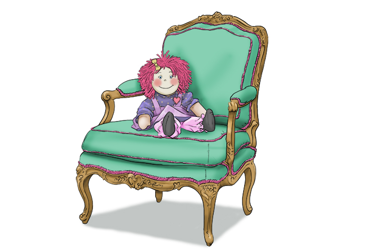 """That doll chair (dolce) would make such a sweet present for my daughter!"""